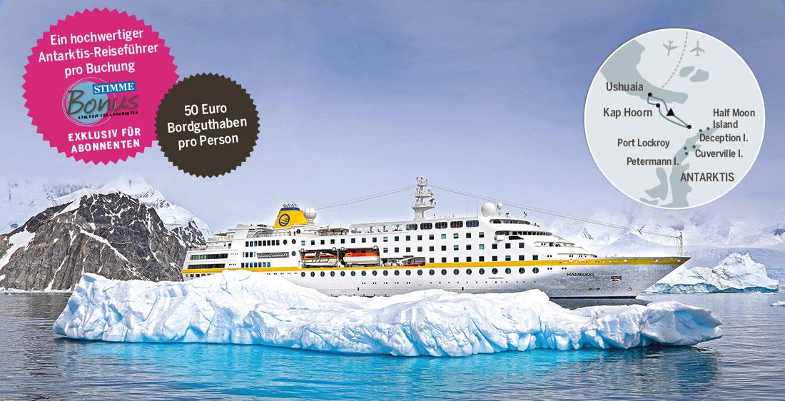 Stimme Leserreisen - Antarktis