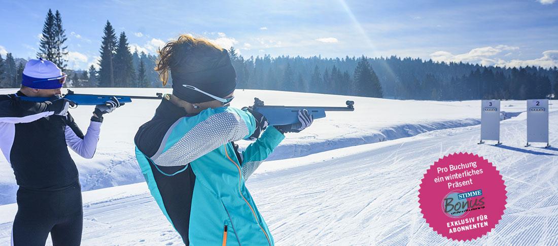 Stimme Leserreisen - Biathlon-Weltcup in Antholz/Südtirol