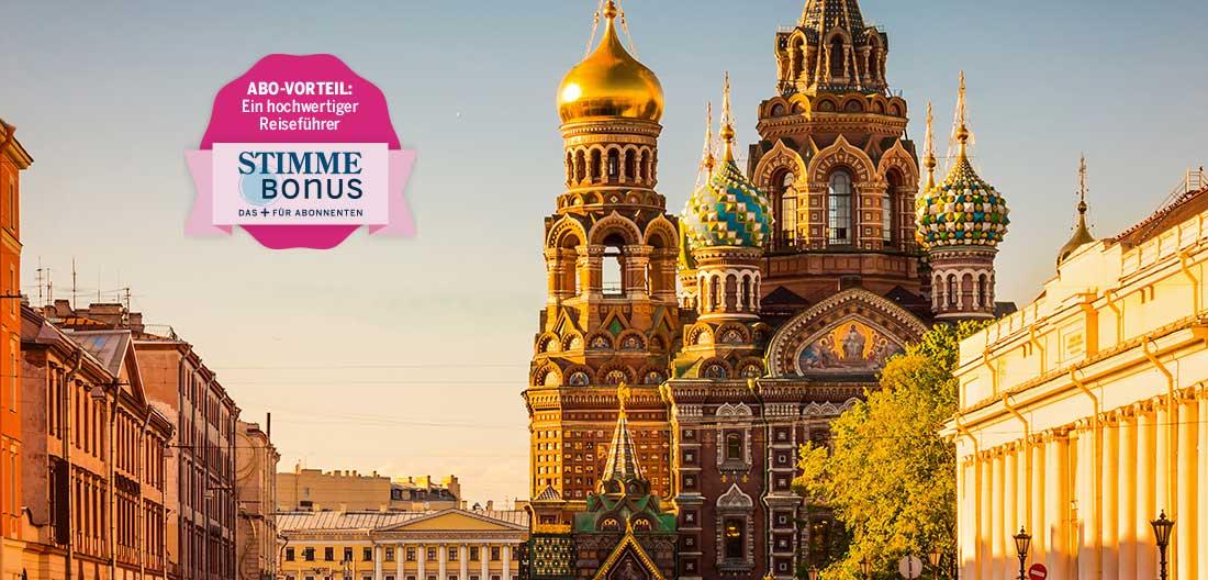 Stimme Leserreise St. Petersburg