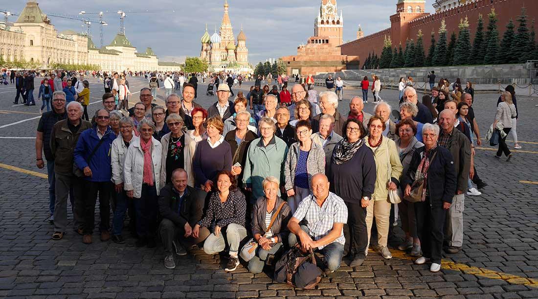 Reise-Gruppenbild: Habsburg, Gulasch-Sozialismus und EU