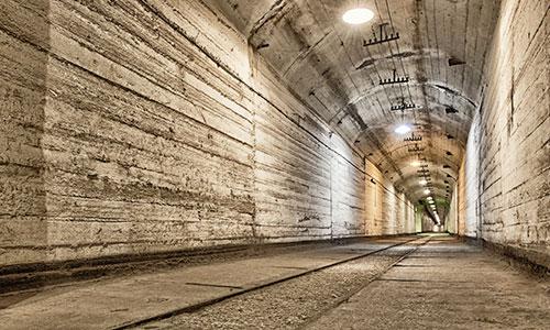 Geheimnisvolle Bunkeranlagen