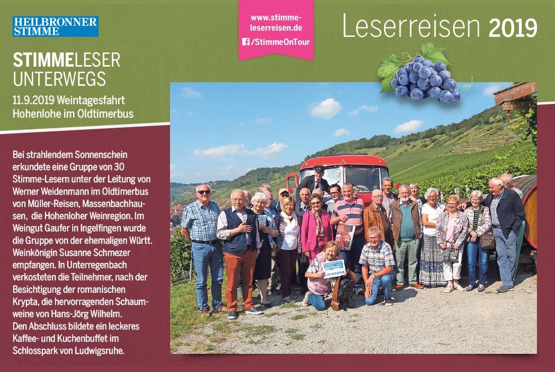 Stimme Leserreisen - Leser unterwegs an der Ostseeküste